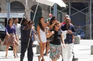 'Salve Jorge': Lurdinha apresenta namorado traficante em show de Elymar Santos
