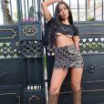 Anitta gravou sua participação no EMA MTV de sua casa, no Rio de Janeiro
