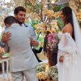 Casamento de Carol Nakamura e Guilherme Leonel: convidados se deliciaram com frutos do mar e filé mignon