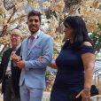 Casamento de Carol Nakamura e Guilherme Leonel: noivo entrou no altar embalado por  'Won't Give Up'