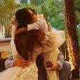 Carol Nakamura e Guilherme Leonel são pais de Wallace. Atriz e modelo se casaram em 12 de novembro de 2020