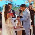 Carol Nakamura se casou com Guilherme Leonel em 12 de novembro de 2020