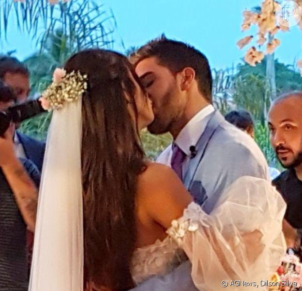 Carol Nakamura e Guilherme Leonel se casaram em 12 de novembro de 2020 após 2 anos de relacionamento