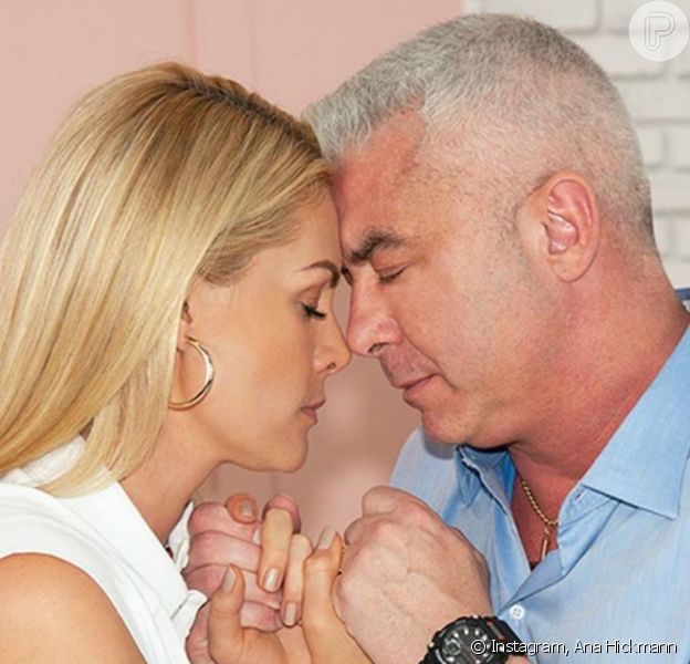 Ana Hickmann apoia o marido, Alexandre Correa, tratamento contra o câncer: 'Guerreiro'