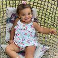Manuella é sucesso nas redes sociais da mãe, Ticiane Pinheiro