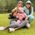 Ticiane Pinheiro também é mãe de Rafaella Justus, de 11 anos