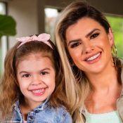 Mirella Santos posta foto com filha, Valentina, e nota: 'Minha bebê está crescendo'