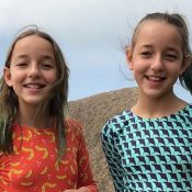 Serena e Vitoria Lovatel, da novela 'Flor do Caribe', destacam cena divertida com Grazi Massafera