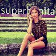 Grazi Massafera comendava o 'Superbonita' desde abril deste ano
