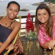 Taís Araújo gravou o 'Superbonita' em uma casa de frente para o mar do Rio de Janeiro