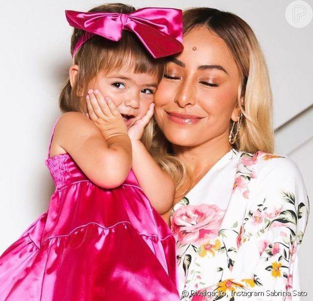 Sabrina Sato comemorou o aniversário de 2 anos da filha, Zoe, neste domingo, 29 de novembro de 2020