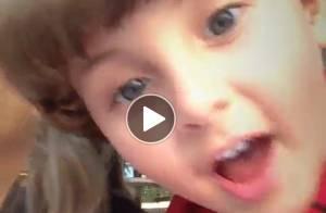 Claudia Leitte grava vídeo com o filho Davi: 'Ele bolou tudo! Lindo de mãe!'