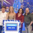 Paulinho e o grupo Roupa Nova em foto com Angélica no 'Vídeo Game'