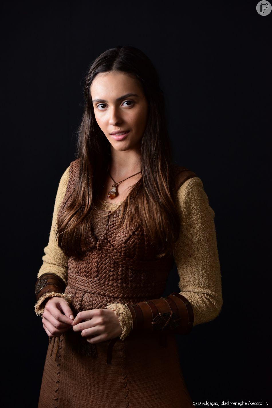 Na novela 'Gênesis', Rafaela Sampaio e Cássia Linhares vão dividir papel de Naamá: g arota de temperamento forte, destemida e esquentada