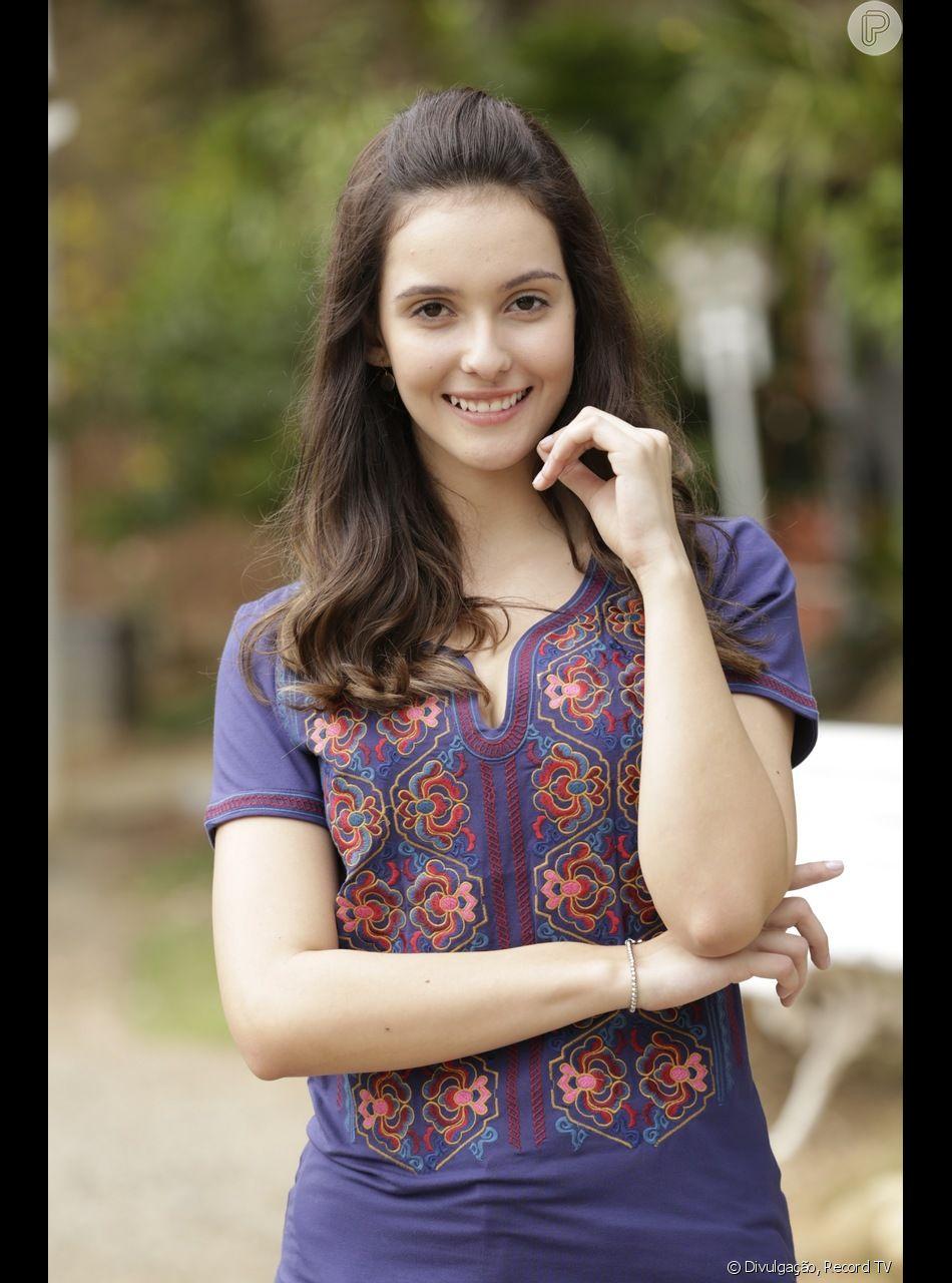 Rafaela Sampaio atuou na novela 'Apocalipse', em 2017