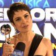 Sandra Annenberg se destaca por seu trabalho no jornalismo da TV Globo