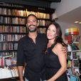 Carolina Ferraz e o marido Marcelo Martins mantêm vida discreta de casados