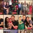 Thais Fersoza fez uma  retrospectiva de Natal