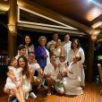 Ano-Novo de Sabrina Sato foi comemorado em família