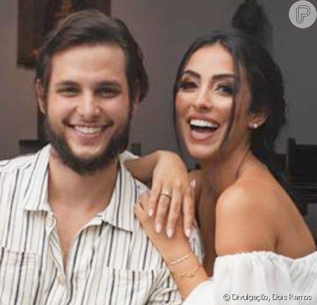 Jade Seba e Bruno Guedes estão oficialmente casados