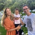 Ticiane Pinheiro e Cesar Tralli são pais de Manuella