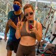 Mariana Bridi está focada na rotina fitness e dieta