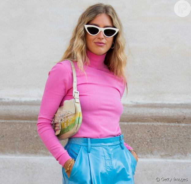 Rosa chiclete promete ser a cor trend