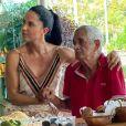 Zezé Di Camargo homenageou a mulher, Graciele Lacerda, e o pai, Francisco, com tatuagens