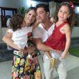 Wesley Safadão e Thyane Dantas são pais de Ysis e de Dom