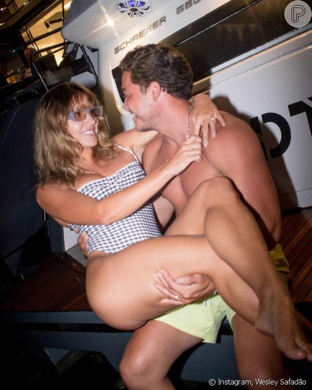 Wesley Safadão faz post romântico para mulher em aniversário