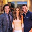 O último trabalho de Igor Rickli na TV Globo foi na novela 'Flor do Caribe', em que atuou ao lado de Grazi Massafera e Henri Castelli