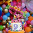 Festa de filha de Zé Neto ganha tema de carnaval