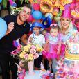 Filha de Zé Neto ganha festa de Carnaval por 9 meses