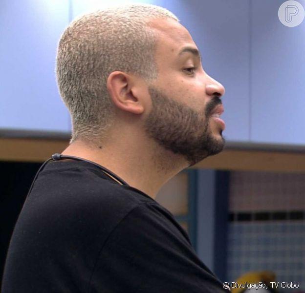 'BBB 21': Projota falou sobre Gilberto em conversa com Caio