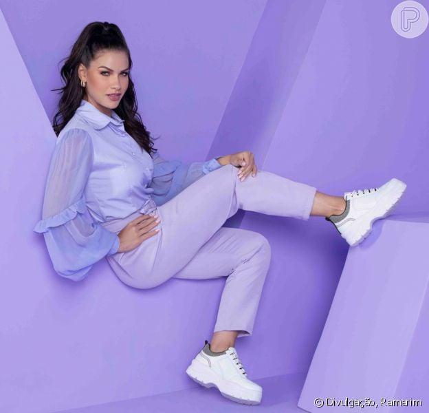 Andressa Suita admite paixão por calçados e lista favoritos: 'Tênis e saltinho'