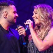Simony troca declarações com noivo, Felipe Rodriguez: 'Esperei você a vida toda'