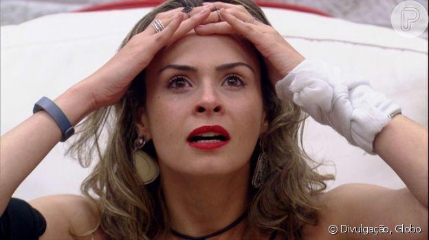 No 'BBB16', Ana Paula Renault criou um bordão com sua eliminação fake