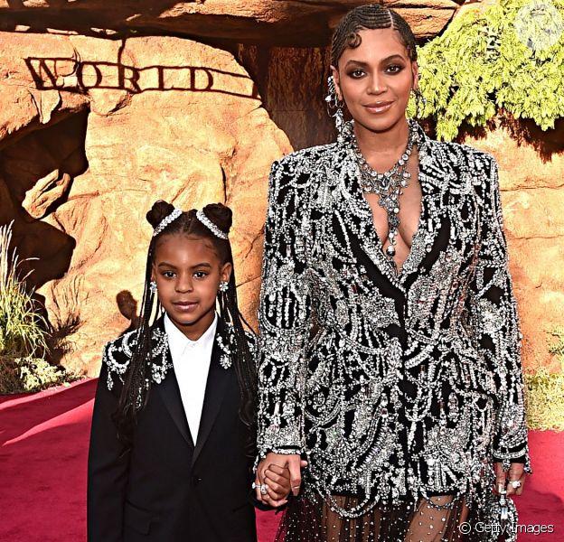 Beyoncé e a filha Blue Ivy ganharam o Grammy de Melhor Videoclipe, por 'Brown Skin Girl'