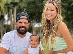 Sorocaba e Biah Rodrigues comemoram 10 meses do filho: 'Imitando um coelhinho'