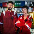 Maria Casadevall estrelou também a série 'Ilha de Ferro', na Globo