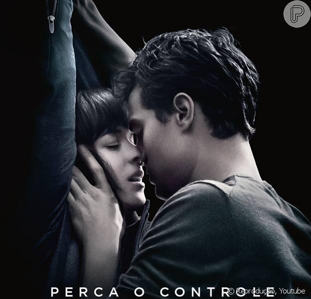 Christian Grey (Jamie Dornan) e Anastasia Steele (Dakota Johnson) aparecem em cenas quentes no segundo trailer de 'Cinquenta Tons de Cinza'