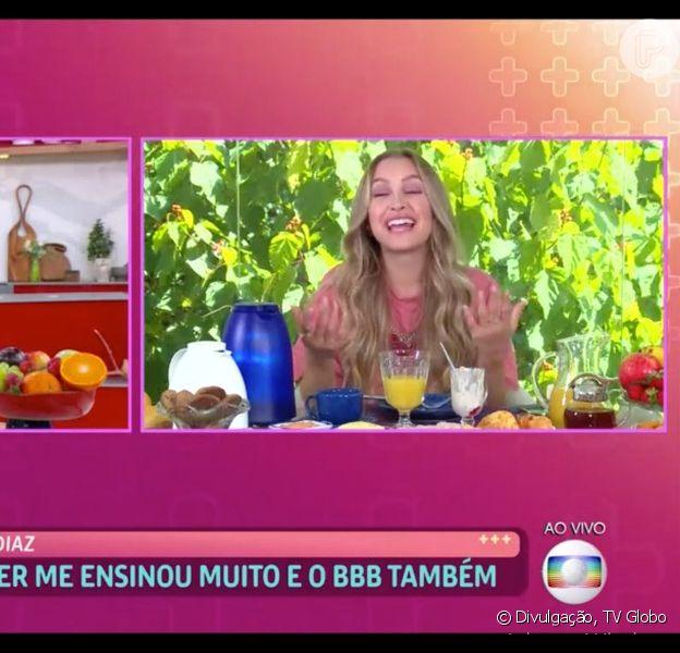 Ana Maria Braga se irrita com Carla Diaz, eliminada do 'BBB 21', por reação com vídeo de Arthur