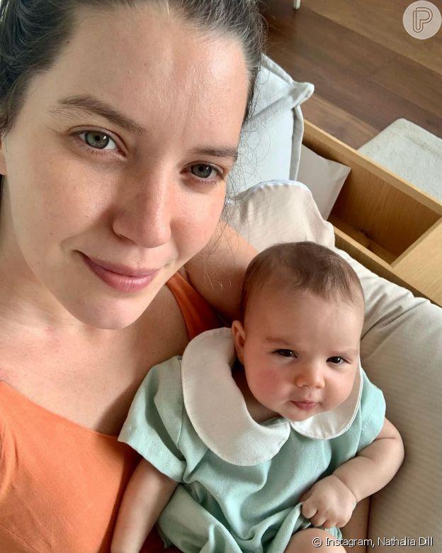 Foto de Nathalia Dill com a filha Eva encanta famosos