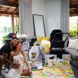 Mulher de Lucas Lucco, Lorena Carvalho ainda tem problemas com a amamentação: 'A inda está complicada'