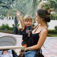 Gabi Brandt lamenta falta dos filhos: ' Estou passando dias difíceis e o que mais dói é a saudade que sinto dos meus pequenos!'