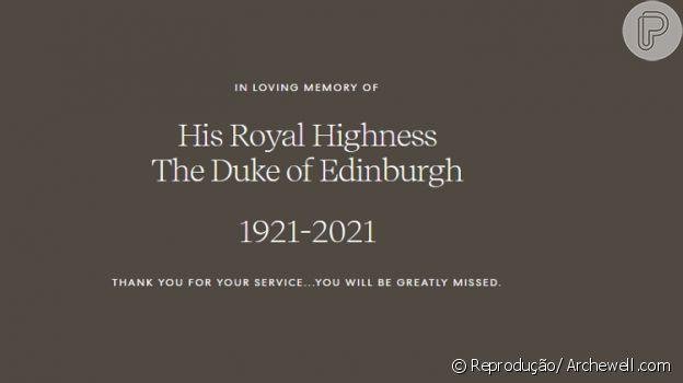 Harry e Meghan Markle lamentam morte de Príncipe Philip, aos 99 anos