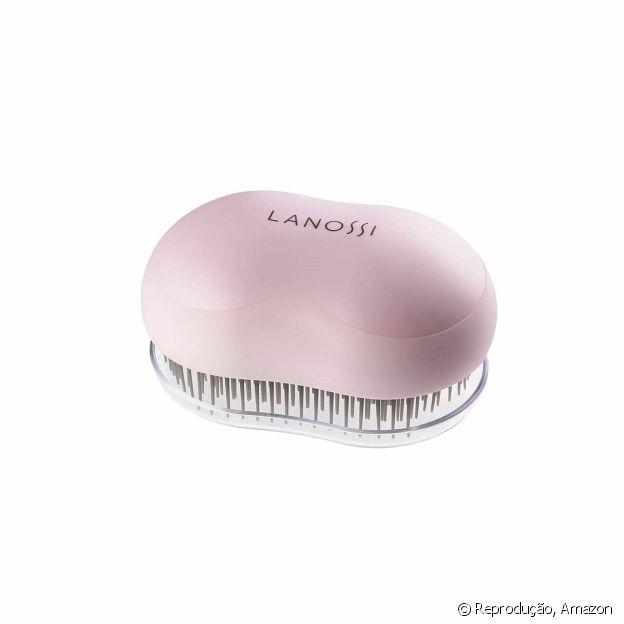 Chega de cabelos embolados! Aposte na escova desembaraçante da Lanossi