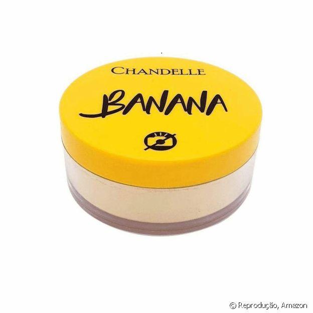 O pó facial Banana tem tecnologia que deixa pele aveludada e com acabamento leve