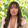 Thaís, do 'BBB 21', é questionada por Ana Maria Braga no 'Mais Você'