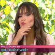Ana Maria Braga afirma que Thaís, do 'BBB 21', 'não é aquela menina que se apresentou'